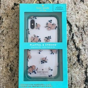 Kate Spade case for iPhone XS.